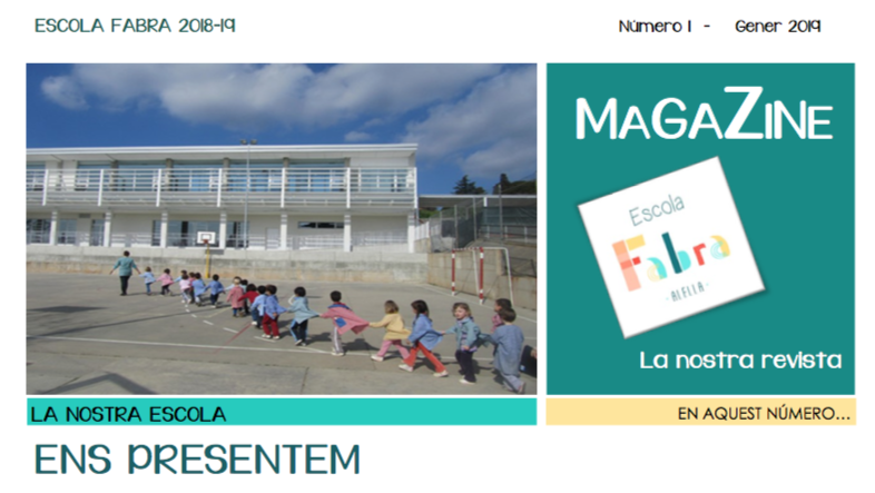 L'escola Fabra crea una revista digital